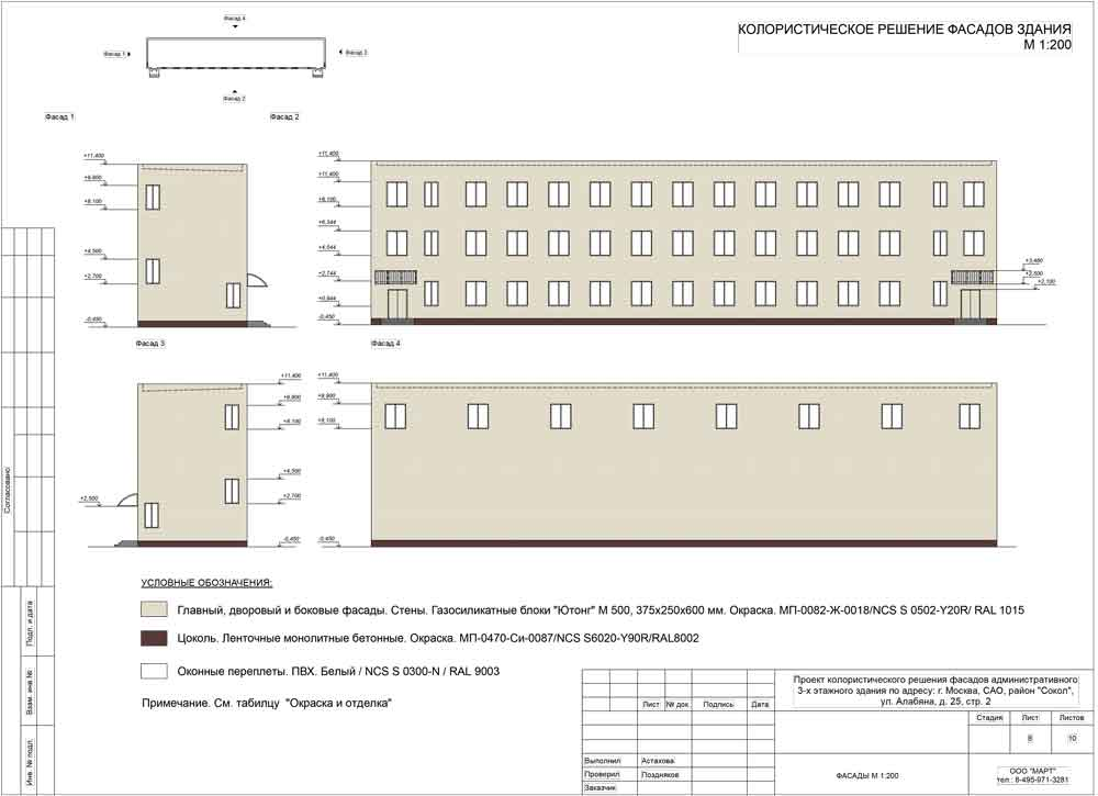 колористический паспорт москомархитектура образец - фото 9