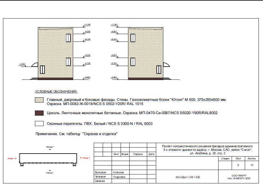 колористический паспорт москомархитектура образец - фото 7